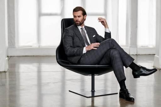 strój biznesowy męski