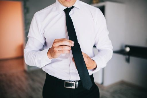 długość krawata wiązanie