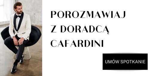 Tkanina na garnitury - umów spotkanie z Cafardini