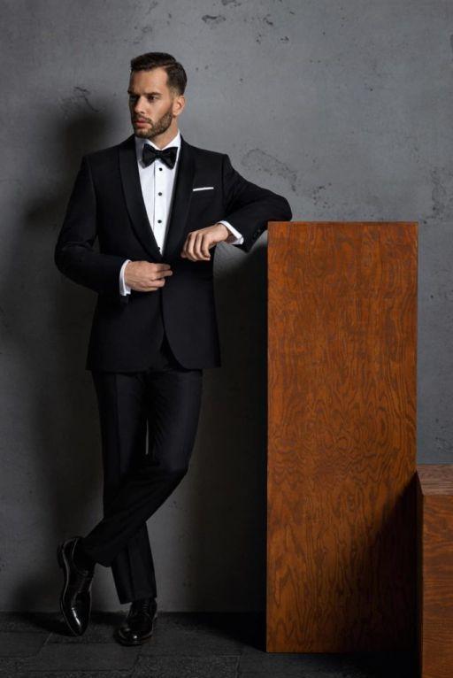 black tie dress code - stylizacja