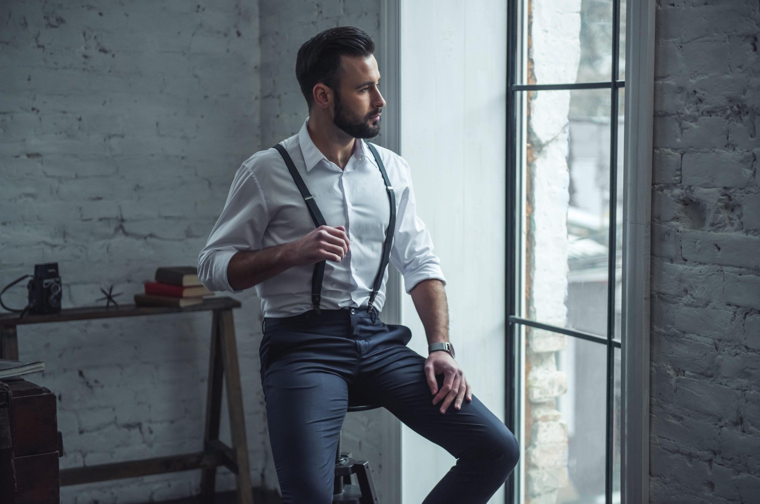 Szelki męskie – wyjaśniamy jak i z czym je nosić